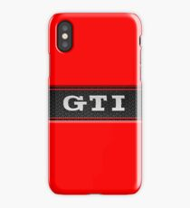 gti red iPhone Case