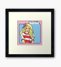 Barbie! Framed Print
