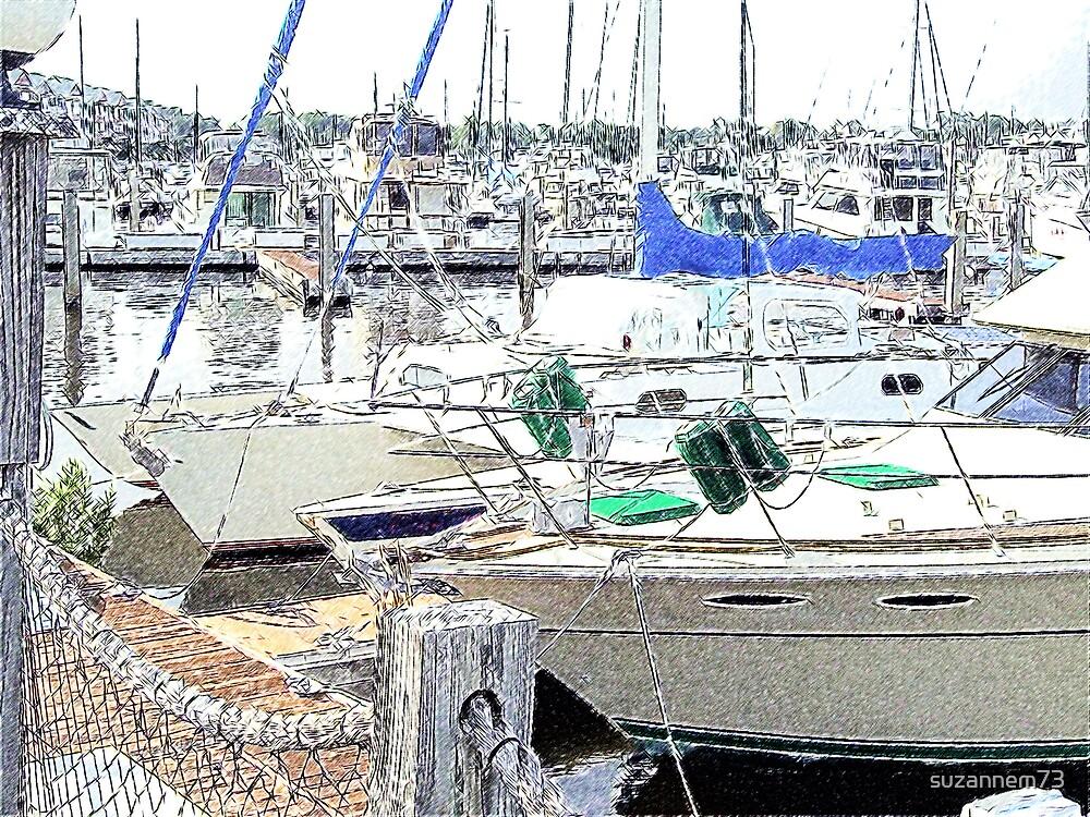 North Myrtle Marina by suzannem73