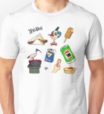 Straya Stickers Collection 01 - The Classics Unisex T-Shirt
