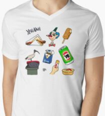 Straya Stickers Collection 01 - The Classics Men's V-Neck T-Shirt