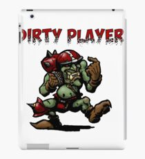 Dirty player red iPad Case/Skin