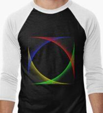 illusion - Colour Men's Baseball ¾ T-Shirt