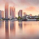 Surfers Paradise, Gold Coast, Queensland, Australia by Michael Boniwell
