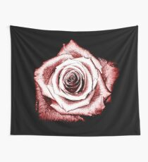 Shimmering Red Wall Tapestry