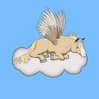 Palomino Pegasus Pony by Palomino1234