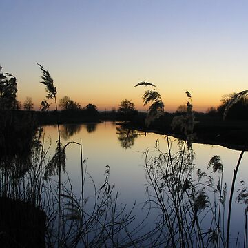 Great Ouse Sunset by Englandken