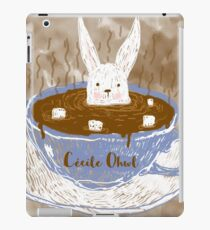 Rabbit in a cup iPad Case/Skin