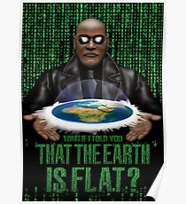 What if i Told you that the earth is FLAT ? Poster
