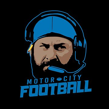 Motor City Football by thedline
