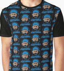 Motor City Football Graphic T-Shirt