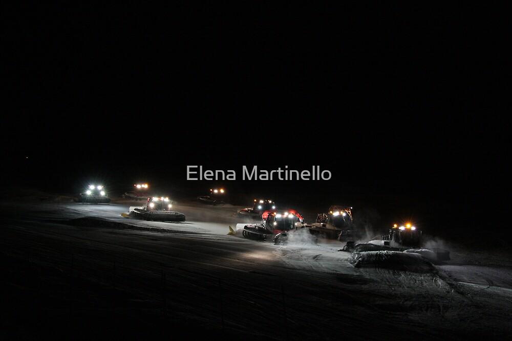 Snowcats by Elena Martinello