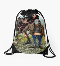 Movie Monsters Drawstring Bag