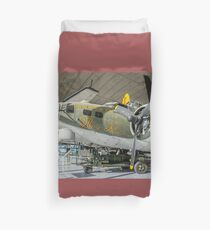 """Boeing B-17G Fortress II 44-83735 F-BDAS """"Mary Alice"""" Duvet Cover"""