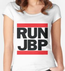 RUN JBP Women's Fitted Scoop T-Shirt
