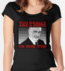 Sean Connery Women's Fitted Scoop T-Shirt