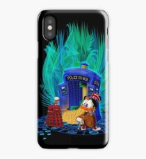 The Ducktor who iPhone Case