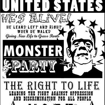 Frankenstien für das politische Plakat des Präsidenten von ImageNation