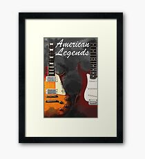 American Legends Framed Print