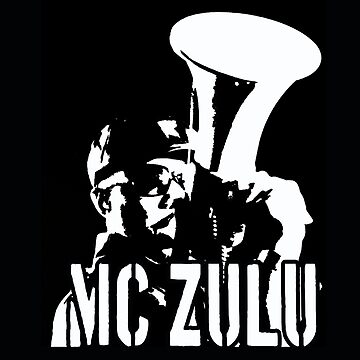 MC ZULU (Logo Print) by mczulu