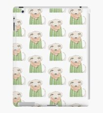 White dog iPad Case/Skin