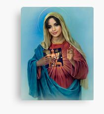 #blessed camila Canvas Print