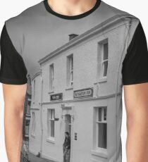 Man Outside Public House - Blackburn a Town and Its People Graphic T-Shirt