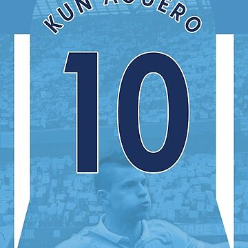 Kun Aguero Manchester City Case by dandroid707