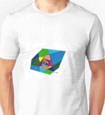 Stain Glass Hallway T-Shirt