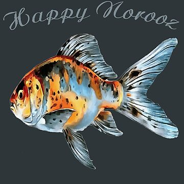 Happy Norooz Shubunkin Goldfish Persian New Year by taiche