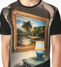 Vintage Hall Painting Graphic T-Shirt