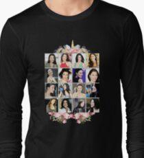 Jaime Murray Collage Long Sleeve T-Shirt