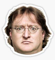 Gabe Newell - Steam Sticker