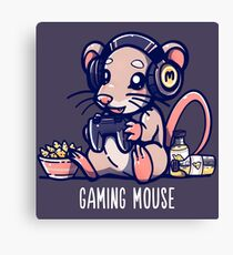 Gaming Mouse Canvas Print