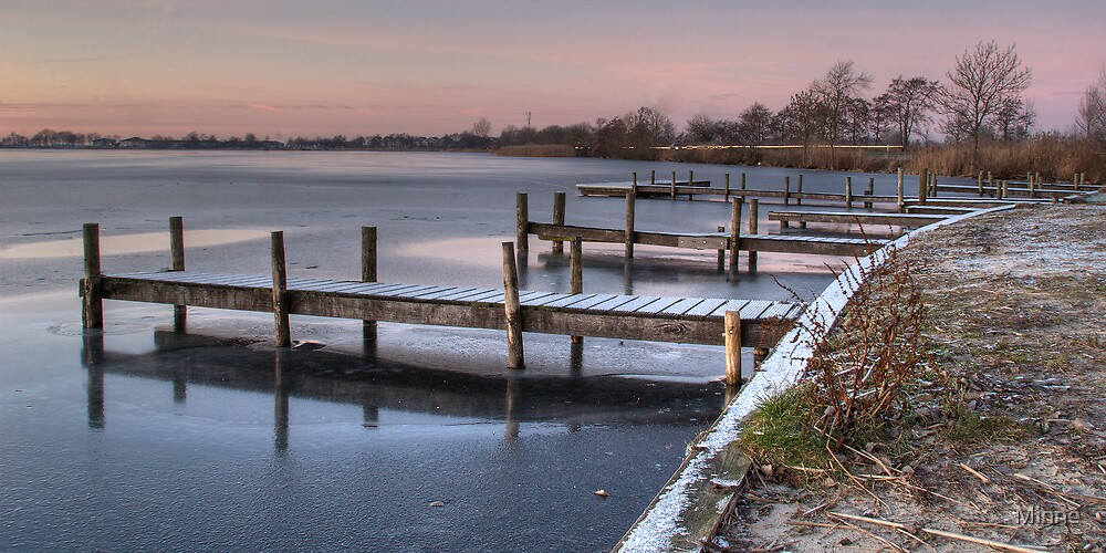 Frozen Lake by Minne