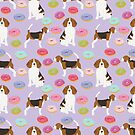 Beagle donuts cute gifts for pure breed dog lover beagles owners by PetFriendly