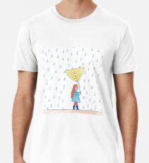 Raining girl Premium T-Shirt