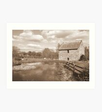 Old Mill at Bunratty Art Print