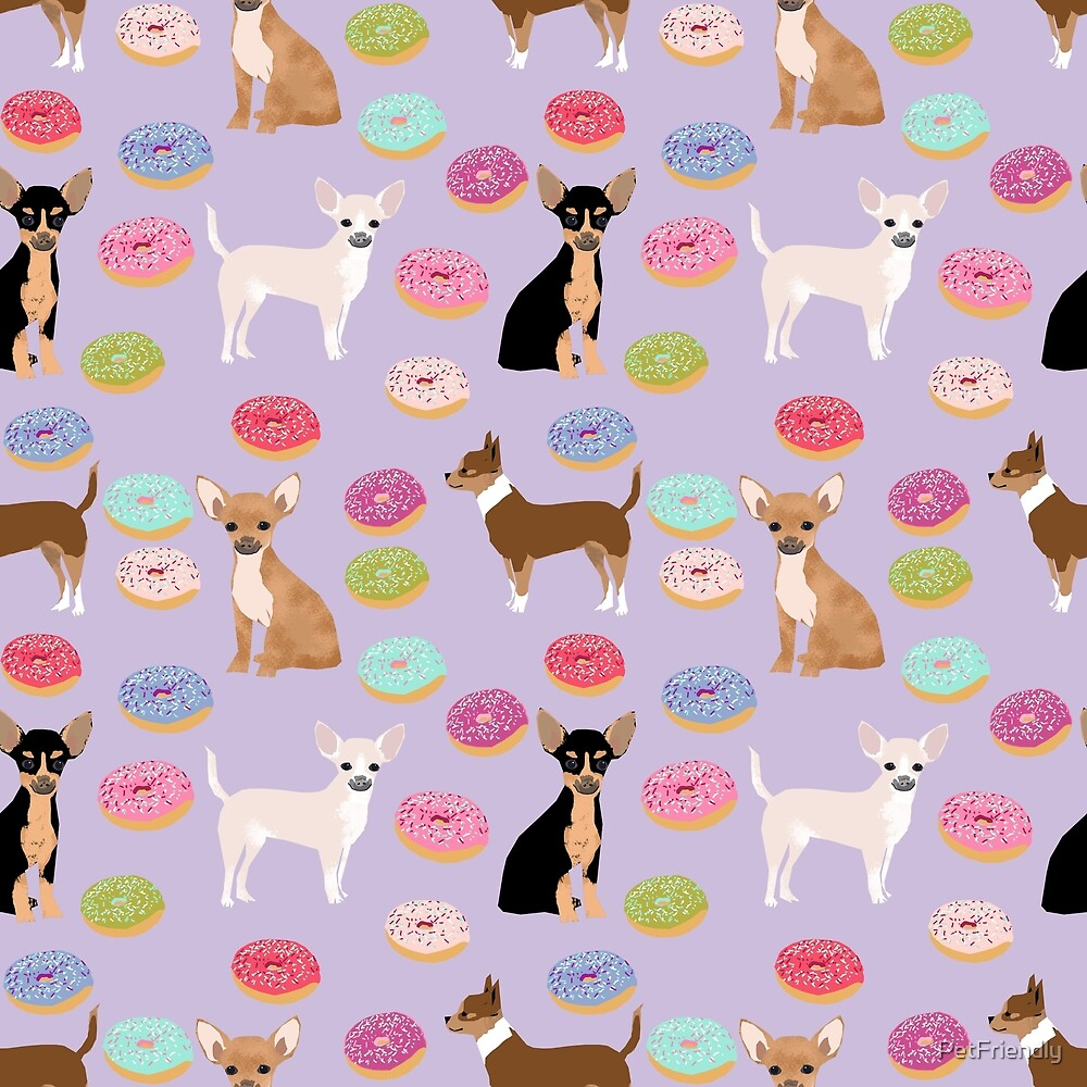 Chihuahua donuts dessert dog breed gifts for dog person chiwawa lovers by PetFriendly