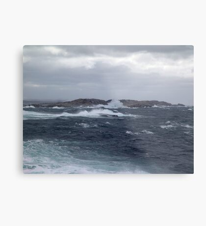Rock-Bound Coast Metal Print