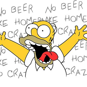 Crazy Homero by MDaniel