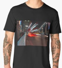Tower Bridge with Long Exposure in London Men's Premium T-Shirt