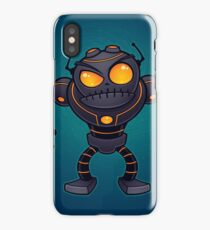 Angry Robot iPhone Case