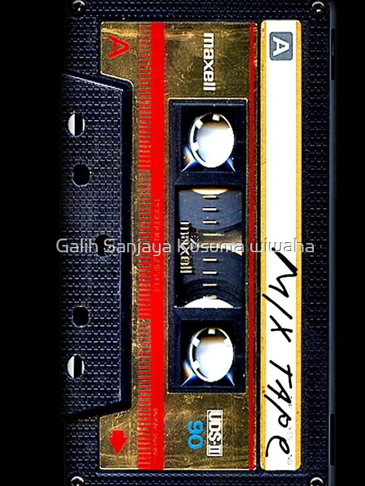 Gold Mix Kassette von GalihArt