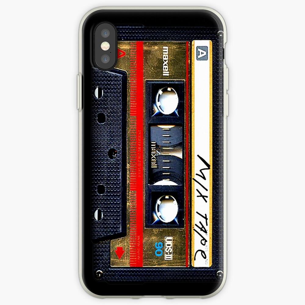 Gold Mix Kassette iPhone-Hüllen & Cover