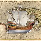Postcard - Roundship by TheCollectioner