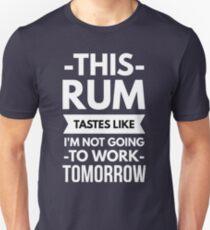 This Rum Unisex T-Shirt