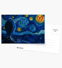 Venture Bros. Starry Night Postcards