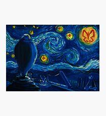 Venture Bros. Starry Night Photographic Print
