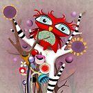 Purple Owl by rupydetequila